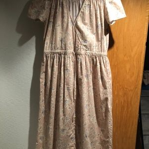 Dawn Dress in Dusty Pink Floral